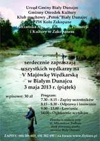 V Majówka Wędkarska w Białym Dunajcu