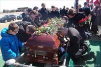 Pogrzeb Mieczysława Fudali - prezesa koła nr 54 Kościelisko ZPPA