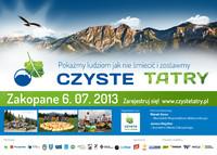 Czyste Tatry 2013 – dołącz do akcji!