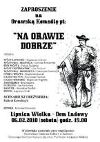 """Komedia """"Na Orawie Dobrze"""""""