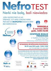 Rusza kampania NEFROTEST w Nowym Targu. Zbadaj nerki za darmo i bez skierowania