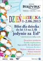 Dzień Dziecka w BUKOVINA Terma Hotel Spa