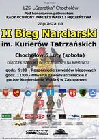 II Bieg Narciarski im. Kurierów Tatrzańskich