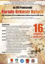 XXI Powiatowa Parada Orkiestr Dętych