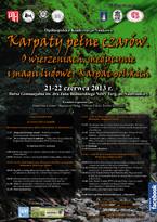 """Ogólnopolska Konferencja Naukowa """"Karpaty pełne czarów"""""""