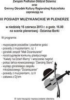 III Posiady Muzykanckie w plenerze