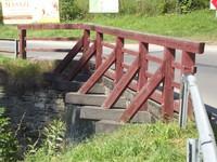 Budowa mostu na potoku Sielski