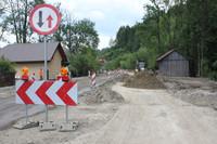 Rozpoczęła się budowa mostu w Ochotnicy Dolnej