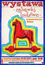 """Wystawa w Starym kościółku w Rabce - Zdroju """"Zabawki ludowe ze zbiorów własnych Muzeum"""""""