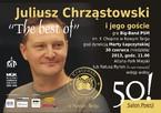 """50! salon poezji """"The best of"""" z udziałem Juliusza Chrząstowskiego i jego gości"""