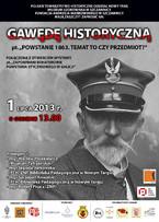 Gawęda historyczna i wystawa o powstaniu styczniowym