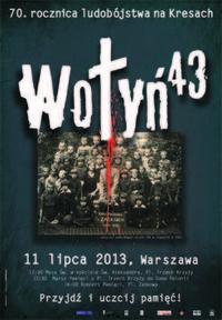 Manifestacja w rocznicę Rzezi Wołyńskiej