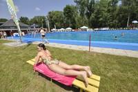 Plaża, basen, ciepła woda