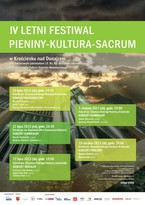 "IV Letni Festiwal ""Pieniny-Kultura-Sacrum"""