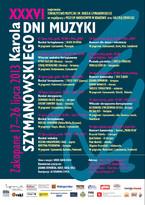 XXXVI Dni Muzyki Karola Szymanowskiego