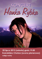 Koncert Hanki Rybki w Kościelisku