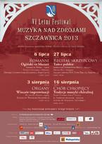 Koncert VI Festiwalu Muzyka nad Zdrojami