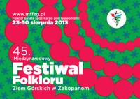 45. Międzynarodowy Festiwal Folkloru Ziem Górskich. Folklor świata spotyka się pod Giewontem