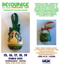 Decoupage dla szkół – Kamienne jaja