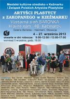 Artyści plastycy z Zakopanego w Kieżmarku