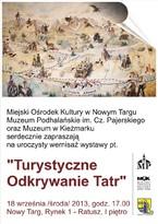 """""""Turystyczne Odkrywanie Tatr"""""""