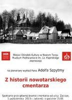 Z historii nowotarskiego cmentarza