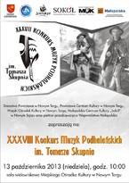 XXXVII Konkurs Muzyk Podhalańskich