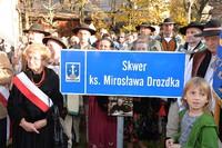 Skwer im. Ks. Mirosława Drozdka