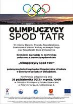 Olimpijczycy spod Tatr