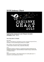 XVII Jesienny Chart