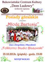 """""""Młode Bartusie"""", """"Folklorno Studio Blażewski"""""""