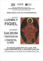 Sacrum - profanum i święta linia