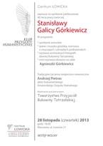 40-lecie pracy twórczej Stanisławy Galicy Górkiewicz