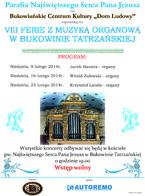 VIII Ferie z Muzyka Organową