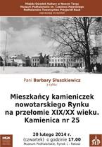 Mieszkańcy Kamieniczek